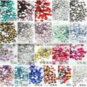 Full Set Colors Ss20 5mm Crystal Beads Flat Back Crystal Rhinestones (FB-ss20 multi colors) pictures & photos