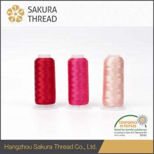 Oeko-Tex High Tenacity 100% 120d/2 Rayon/Viscose Embroidery Thread pictures & photos