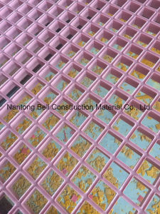 Fiberglass Pink Molded Grating, FRP Grating, GRP Grating. pictures & photos