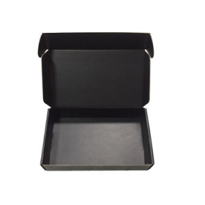 Fancy Matte Black Cardboard Packaging Box Gift Box Wholesale pictures & photos