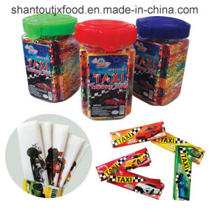 Bottled Taxi Chewing Gum 5 Flavors with Tattoo pictures & photos