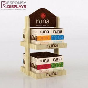 Table Top Tea Display Rack Multilayer Tea Leaf Holder pictures & photos