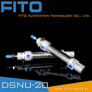 Ma Stainless Steel Pneumatic Cylinder/ Mini Air Cylinder/ Small Cylinders pictures & photos