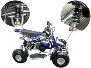 49cc, Single Cylinder, 2-Stroke, Air Cooled ATV (ATV-002)