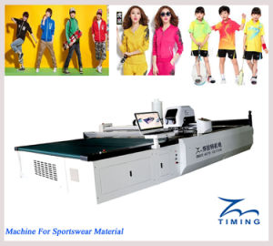 Computerized Multi-Ply Fabric Cutting Machine Computerized Cloth Auto Cutter Spreading Machine Available pictures & photos