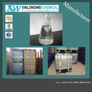 (ISO Manufactury) Paper/Texitle/Mining Use Hydrogen Per Oxide 50% 35% (H2O2) pictures & photos