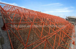 Portable Light Steel Structure Space Truss Framework Fabrication pictures & photos