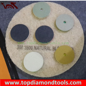 Diamond Polishing Pads with Sponge or New Fiber for Concrete Floor Polishing pictures & photos
