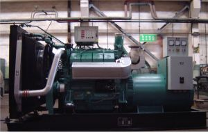 Deutz Diesel Natural Gas Dual-Fuel Generator Set 300kw (MD330DF)