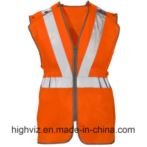 Polyster Long Tracker Reflective Vest with En20471 (C2506) pictures & photos