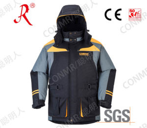 Fashion Sea Fishing Waterproof Quilted Jacket for Winter (QF-9078A) pictures & photos