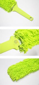 Wholesale Rectangular Chenille Fiber Air-Condition Cleaning Brush pictures & photos