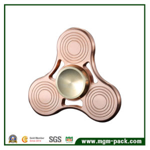 Red Bronze Spiral Fidget Hand Spinner pictures & photos