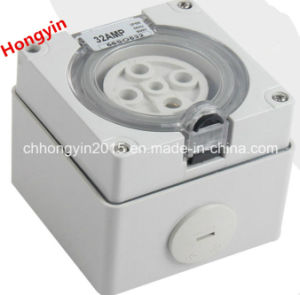 Extension IP66 500V 32A 5pin Waterproof Electric Industrial Combination Switched Sockets pictures & photos
