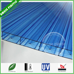 Plastic Building Material Polycarbonate Triple-Wall Hollow Sheet of Roofing Sheet pictures & photos