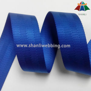 1.5 Inch Four Twill Blue Seat Belt Webbing pictures & photos