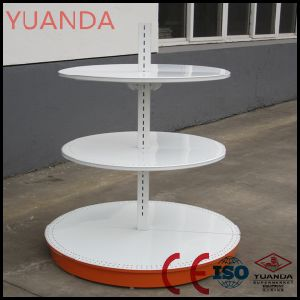 Round Supermarket Display Shelf with Ce and ISO pictures & photos