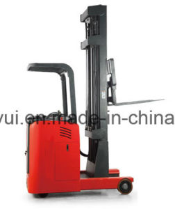 1.5t Stand-on Reach Electric Stacker pictures & photos