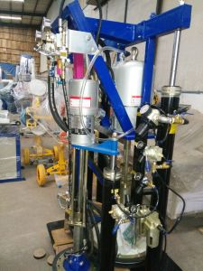 High Efficiency Pneumatic Double Group Silicone Sealant Extruder pictures & photos