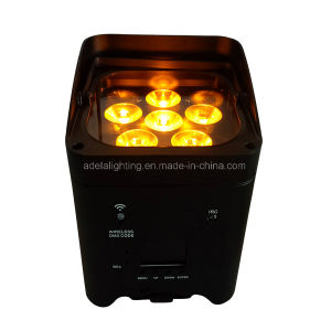 6X12W 6in1 Irc Wireless Battery with APP Control LED Light pictures & photos