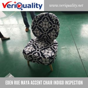 Eden Rue Maya Accent Chair QC and Inspection Service at Jiashan, Zhejiang pictures & photos