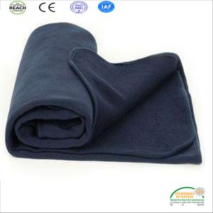 Anti-Pilling Flame Retardant Airline Blankets Anti-Pilling Polar Fleece Fireproof Blankets for Airlines pictures & photos