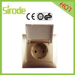 9206 Series Gold Wall Socket
