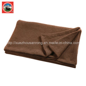 Pieapple Needle Blanket/Cashmere Blanket/ Camel Wool Fabric/Bed Sheet/Bedding pictures & photos