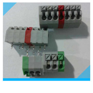 PCB 5.0mm 5.08mm Pitch Spring PCB Mount Terminal Block pictures & photos