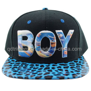 Flat Bill Sublimation Print Snap Back Baseball Cap (TMFL0570-1) pictures & photos