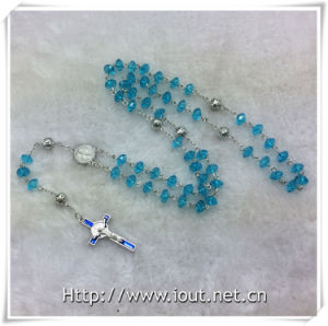 Plastic Colourful Beads Rosaries, Religious Rosary Bead, Rosary (IO-cr391) pictures & photos