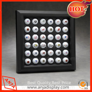 Wooden Golf Ball Display Case for Shop pictures & photos
