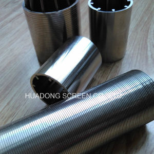 "1/2"" 316L Stainless Steel High-Precision Round Hole Wedge Wire Screen pictures & photos"