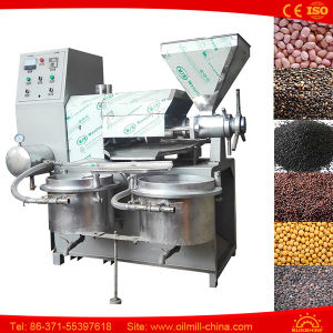 Black Seed Peanut Groundnut Sesame Small Cold Press Oil Machine pictures & photos