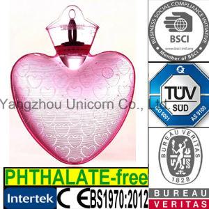 Heart PVC Hot Water Bag