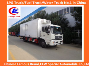 Heavy Duty Dongfeng 4*2 10cbm Refrigerated Truck pictures & photos