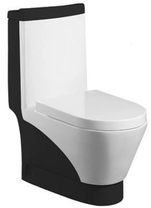 Wash Down One-Piece Toilet (A-0197D)