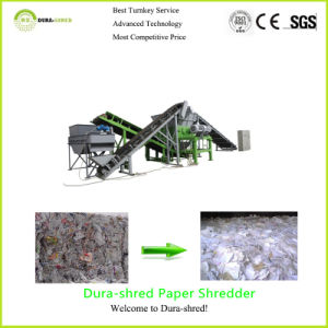 Dura-Shred Professional Cost of Plastic Recycling Machine (TSD1663) pictures & photos