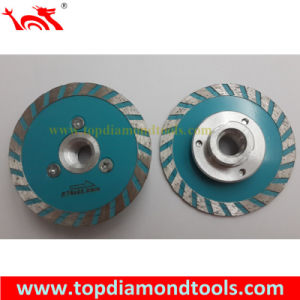 Diamond Turbo Cutting Blade with Flange M14 pictures & photos