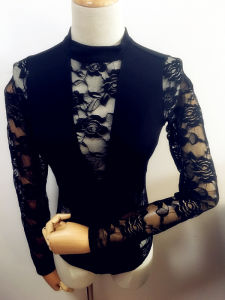 Women Fashion Clothing Long Sleeve Sexy Lace Adults Lingerie pictures & photos