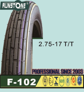 Motorcycle Tyre 2.75-17 Tube Tyre pictures & photos