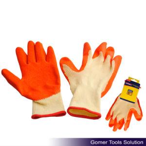 Gauge Latex Coated Crinkle Finished Work Glove