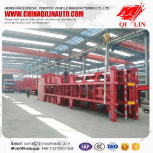 2*20FT Container Loading Skeleton Trailer with Competitive Price pictures & photos