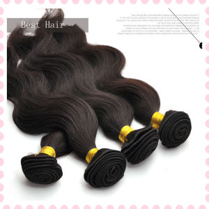 Unprocessed Brazilian Virgin Hair 7A Cheap Unproessed Brazilian Body Wave pictures & photos