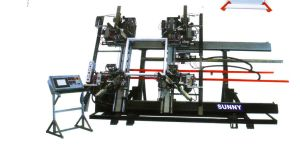 Four-Head Welding Machine for PVC /UPVC Profile Seamless Welding Machine for Window and Door Machine pictures & photos