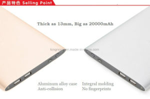 Aluminum Alloy Case 20000mAh Power Bank pictures & photos