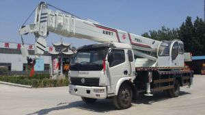 China Small 7ton Wheel Tire Truck Crane pictures & photos