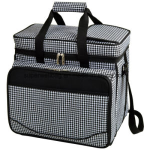 Equipped Insulated Picnic Bag Cooler Bags with Service for 4 Person pictures & photos