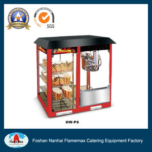 Automatic Commercial Popcorn Machine with Warming Showcase (HW-P8) pictures & photos