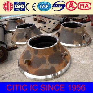 Factory Directly Supply Hydrulic Cone Crusher Parts for Mantle pictures & photos